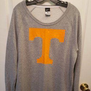 Nike University of Tennessee Gray Orange Logo Sz M